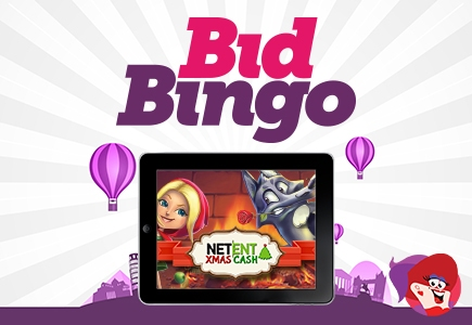 Final Days of Bid Bingo's NetEnt Xmas Cash Event