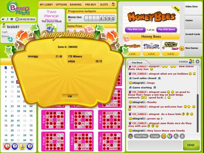 Bingo MagiX Review