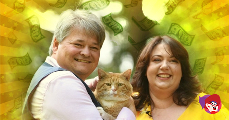 Couple 'Feline Fine' After Landing £1 Million Scratch Card Win; Claim Their Win Was Down to Their Cat!