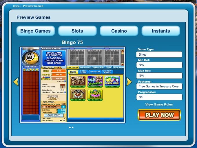 Jackpot Liner Lobby