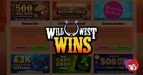 New Wild West Wins Full to the Top with Spins!