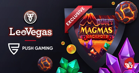 LeoVegas: Collab with Push Gaming Leads to Eruption of Fun