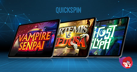 Quickspin Teases of Greek Goddesses, Relentless Monsters and Spooky Antics in Upcoming Slots