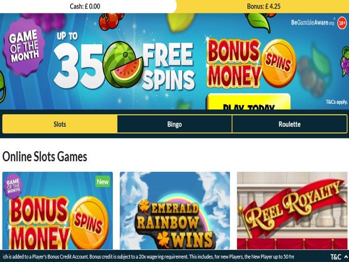 Mr Spin Bingo Lobby
