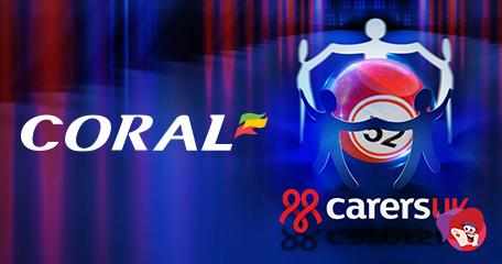 Coral Raising Bingo Funds for Carers UK