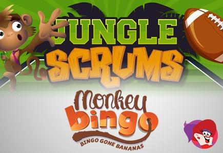 Monkey Bingo Hosts Jungle Scrums Game