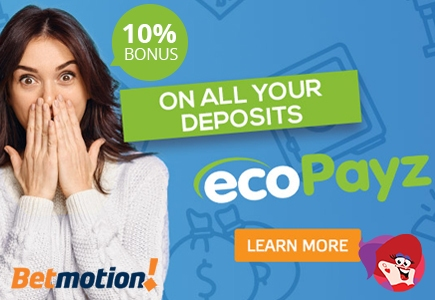 10% Bonus on All Bitcoin Deposits on BetMotion