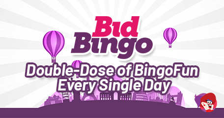 Claim a Double-Dose of Bingo Fun Every Single Day with Bid Bingo This July!