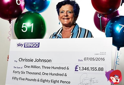 Playtech's Chest of Plenty Creates the First Ever Millionaire at Sky Bingo