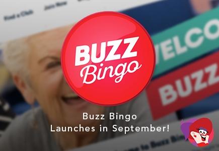 Buzz Bingo Launches in September!
