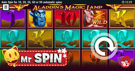 Game of the Month Sees Mr Spin Travel to the Mystical Middle East
