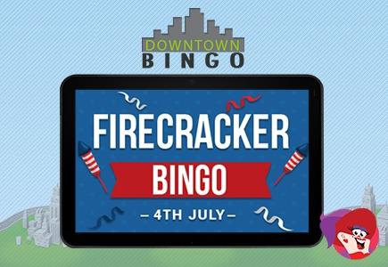 Head Downtown for 4th of July Firecracker Bingo