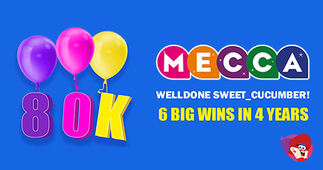 Lucky Streak Results in 6 Wins and £80K in Jackpots at Mecca Bingo!
