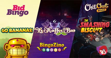 New Games Revealed at Bid Bingo, Chit Chat Bingo and BingoZino – What Will You Play?