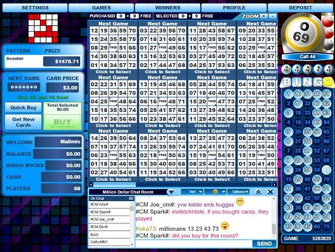 Vic`s Bingo Lobby