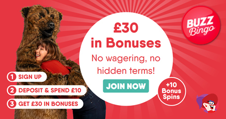 No Hidden Terms and No Wagering – Just Fair Bingo Bonuses for Buzz Bingo Players