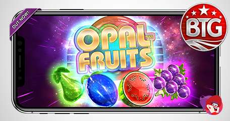 Opal Fruits Slot Now Available to Play on Desktop and Mobile Devices