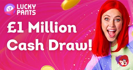 Enter the Big £1m Autumn Bingo Draw at Lucky Pants Bingo
