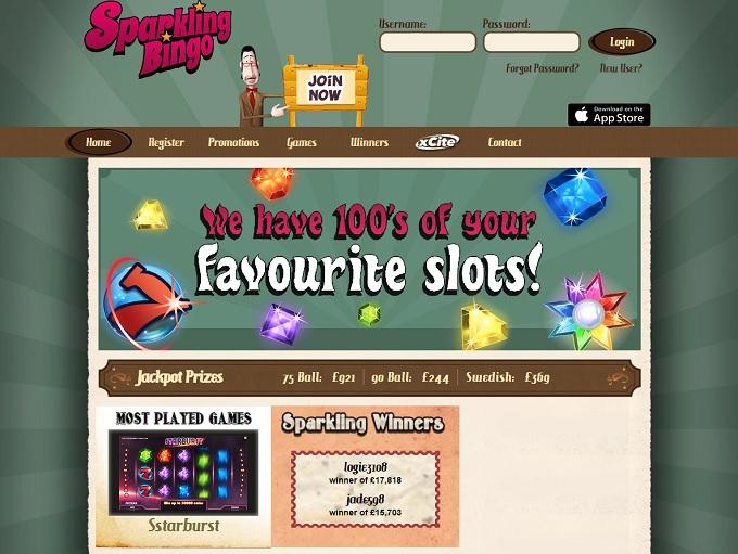 Sparkling Bingo Home