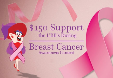 Let's Spread the Word with LBB's $150 Breast Cancer Awareness Contest