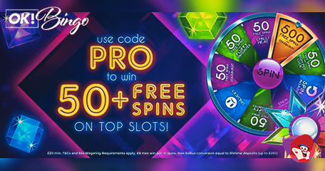 OK Bingo: A New Spinning and Winning Addition – Pro Free Spins!