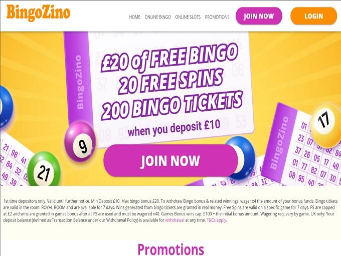 BingoZino Home