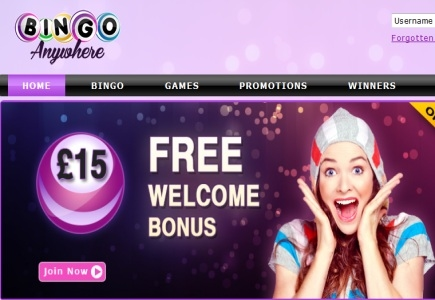 Bingo Anywhere New Site Celebration!