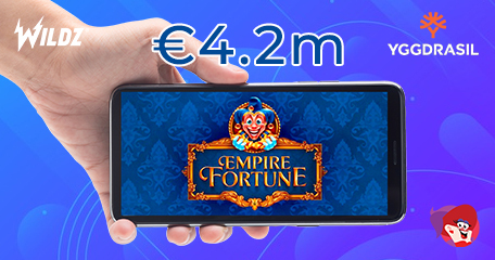 Yggdrasil's Empire Fortune Drops a Life-Changing Win of €4.2m
