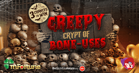 New mFortune Release = Free Bone-Us Spins and Prize Draw