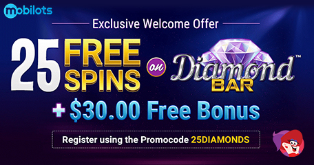 Bingo Billy Rolls Out New Welcome Offer to Celebrate New Diamond Bar Slot Release
