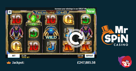 Spin Guaranteed Freebies with New Mr Spin Title