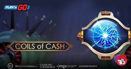 Play'n GO Coils of Cash Cascading the Way for 2021 Riches