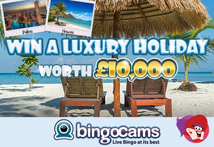 Win Your Perfect Holiday at Bingo Cams