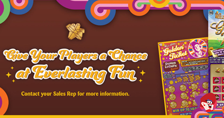 US Lotteries See Gold with Tasty New Willy Wonka Release