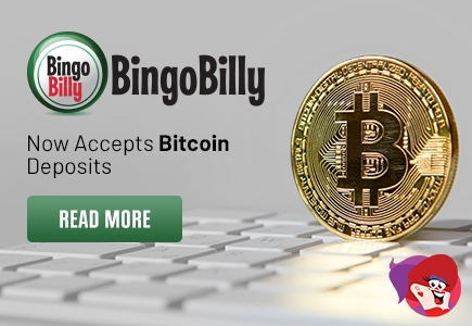 Players Eligible for Bitcoin Banking at Bingo Billy