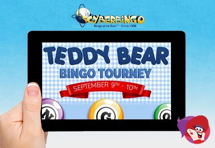 Hug a Teddy Bear This Weekend at Cyber Bingo