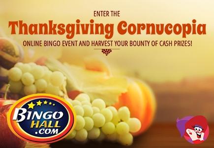 Bingo Hall Thanksgiving 2016 Bounty of Cash