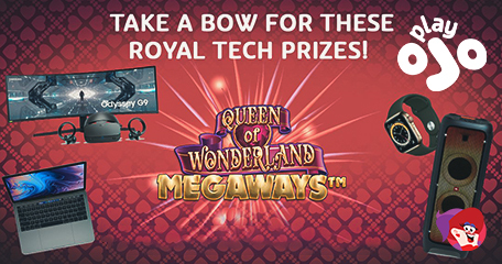 Regal Prizes of Top Tech Courtesy of Queen Megaways