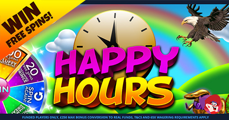 Go Bonkers for Happy Hour Bingo Where Bonuses and Chat Games Make for Great Fun