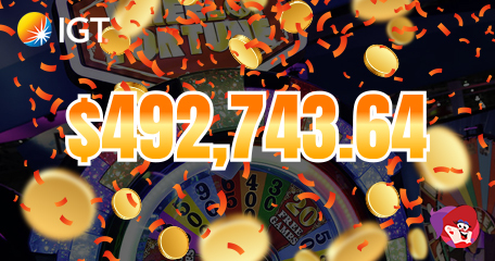 Slots Player Spinning After $492K Win on 25 Cent Machine in Las Vegas!