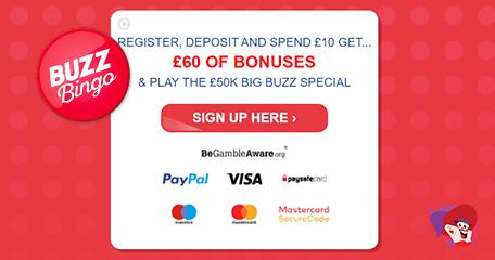 Three Chances to Win £50K Daily – What a Buzz (Bingo!)