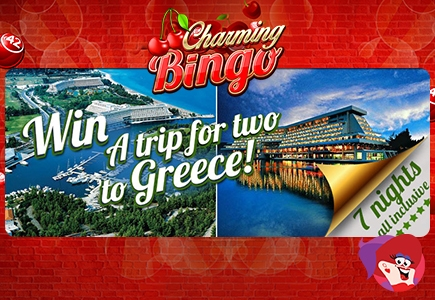 Charming Bingo Greece Vacation Giveaway