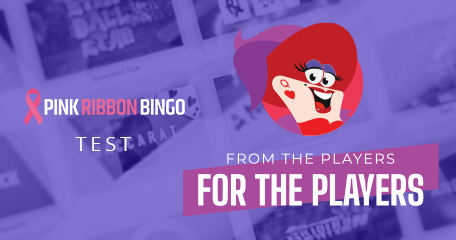 From the Players for the Players: Pink Ribbon Bingo Test