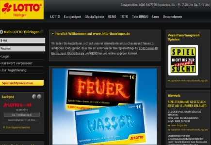 New Service Portal by German State Thuringia's Lottery