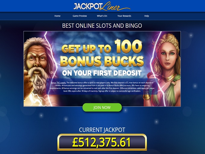 Jackpot Liner Home