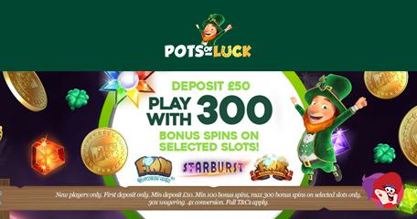 Seamus Guarantees to Deliver More Bingo Fun at Pots of Luck Bingo