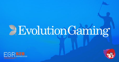 Evolution Lands 'Live Casino Supplier of the Year' Award for 11th Consecutive Year