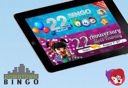 Join Last Minute Celebrations at Downtown Bingo