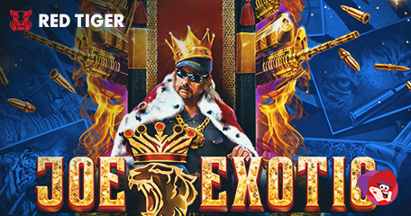 LeoVegas Presents Joe Exotic: From Star of Tiger King to Star of His Own Slot!