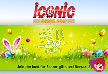 Iconic Bingo Running Post-Holiday Easter Egg Hunt